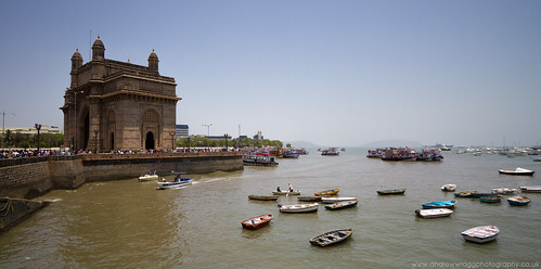 The Gateway of India by Andrew Wragg