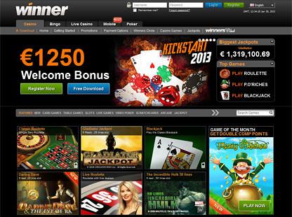 Winner Casino Home