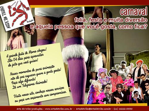 Arte daTribo - Telegrama Animado - Carnaval by Arte da Tribo Produções