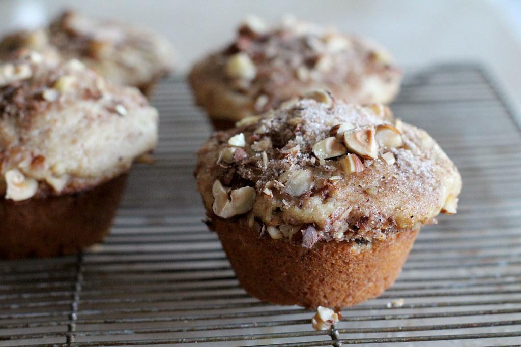 kim boyce's hazelnut muffins