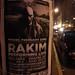 Small photo of Rakim concert flyer