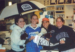 Students in the Coop Store in the 2002 Metate