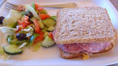 Wild Dog Safari Lunch, Sandwich and Greek Salad, K…