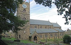 St. Michael and All Angels Church, Haworth, Yorkshire