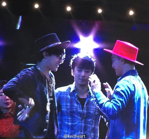 G-Dragon, Seung Ri & Tae Yang - V.I.P GATHERING in Harbin - 21mar2015 - keitheart - 01