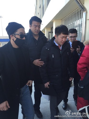 Big Bang - Harbin Airport - 21mar2015 - Kimsoohyun0223 - 10