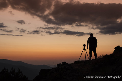 sunset silhouette mountain mountaintop mountainside clouds depthfield depth friendship canonusers canonphotography canon dslr t3i ef35350mmf3556lusm cyprus madari troodos outdoor sky skylovers dusk ngc
