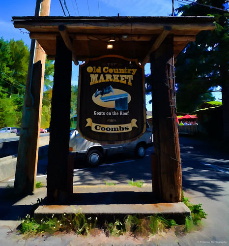 The Old Country Market (Goats on the Roof) - Coombs, BC
