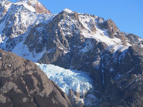 Trek de la Laguna de los Tres: un premier glacier