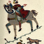 Harold Godwinson, by Stamford Bridge Tapestry Project