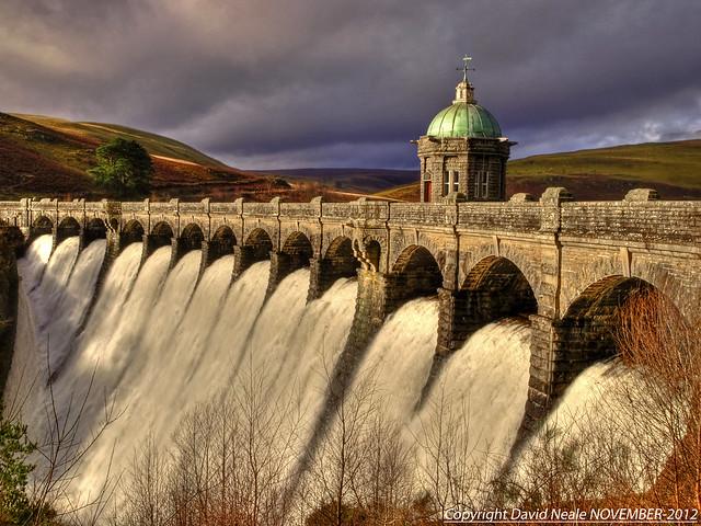 Craig Goch Dam - Elan Valley