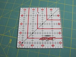 Sullivan's square with fabric