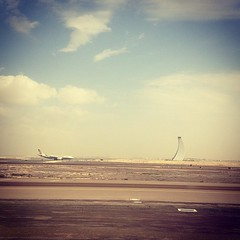 Air Traffic Control at Abu Dhabi International Airport
