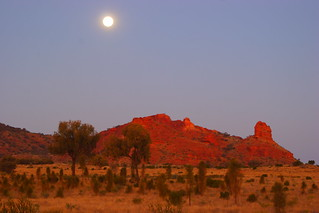 Full Moon over Mount Ooraminna