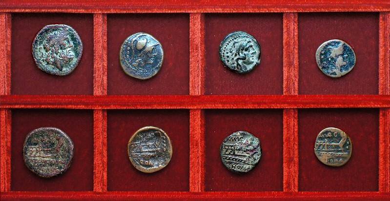RRC 257 M.VARG Vargunteia bronzes, Ahala collection, coins of the Roman Republic