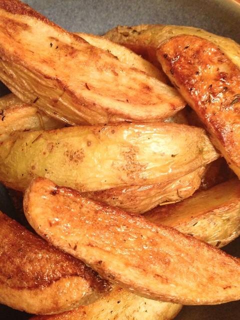 WW – Oven Roasted Potato Wedges