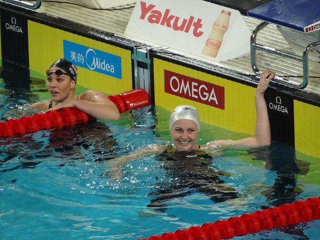 Cc Photo 412 Melanie Costa Schmid 2012 World Sc Champion In The Women S 400 Free Swimmer 39 S Daily