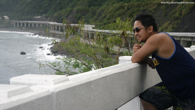 Jay Pagulayan in Patapat viaduct