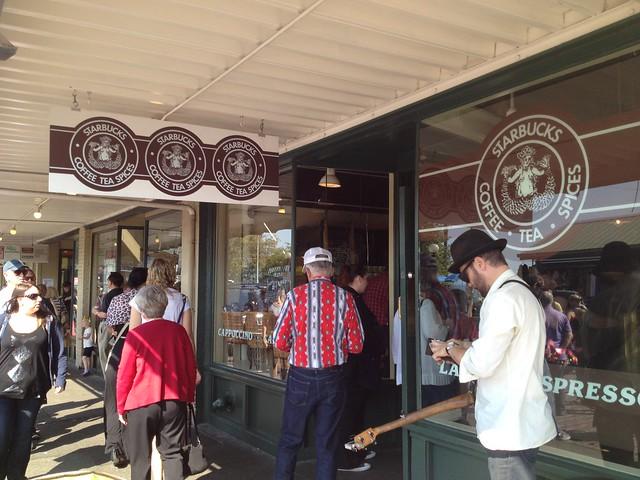 Original Starbucks storefront