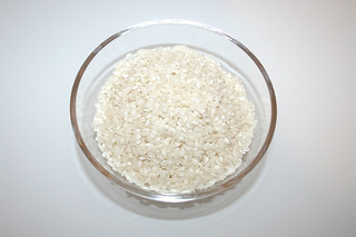 07 - Zutat Risottoreis / Ingredient risotto rice
