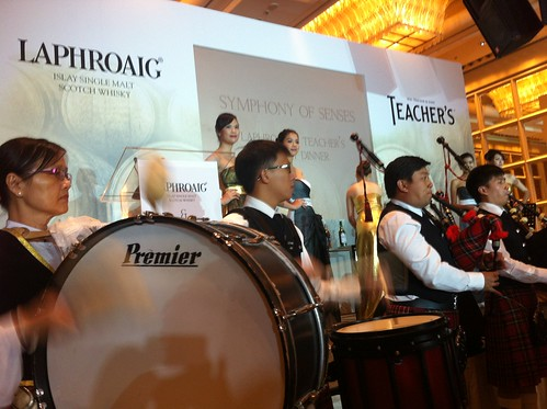 The stage at Symphony of Senses by Laphroaig & Teacher's