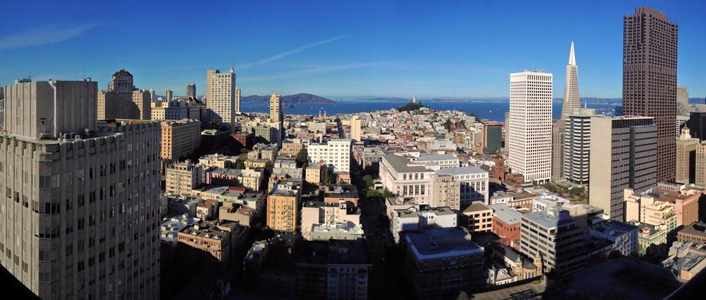 San Francisco panorama - Looking north from the Grand Hyatt - 20121124