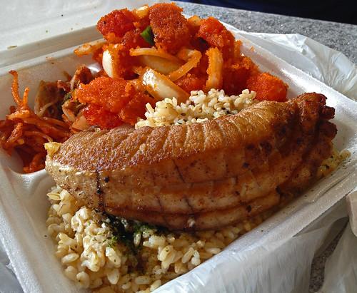 Fried Ahi Belly