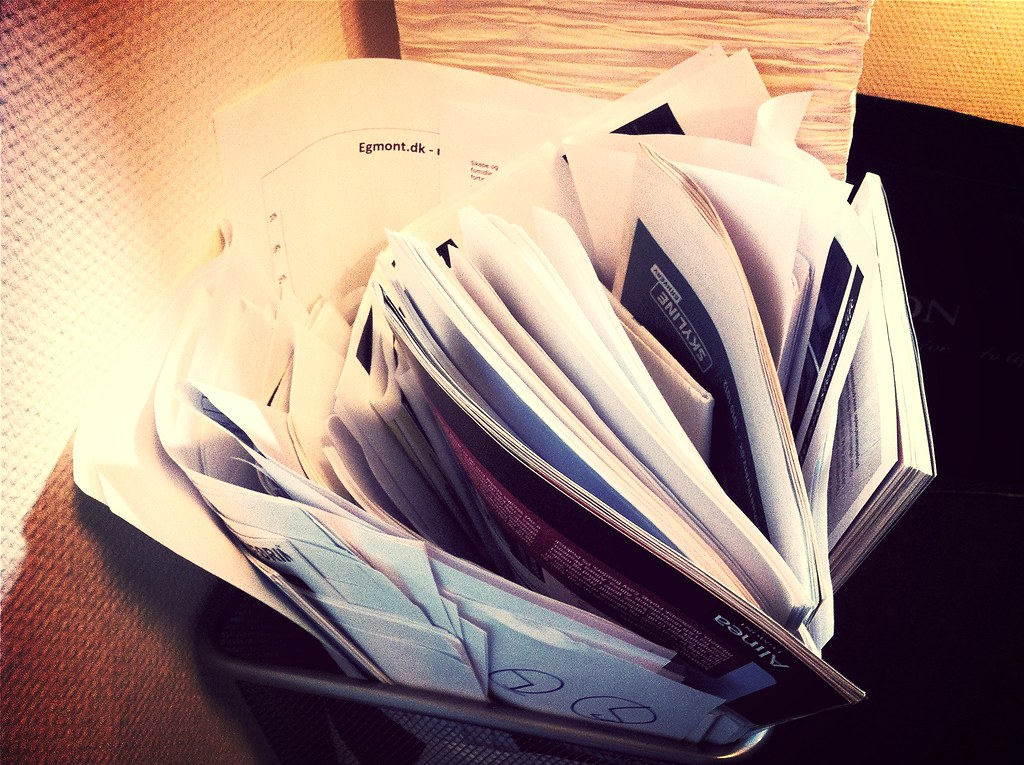 "Finally found the time to process all the papers marked ""save for later"" throughout the year."