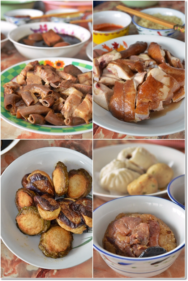 Braised Chicken, Pork, Dim Sum & Yong Tau Foo