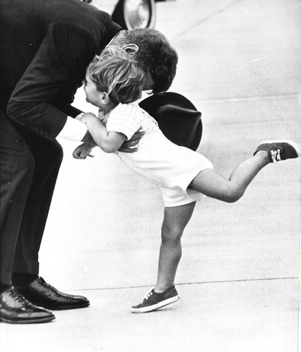 JFK & JFK jr. sweet.
