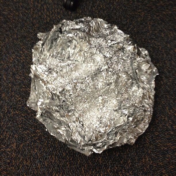 Using Tin Foil Instead Of Greasing Pan For Cake