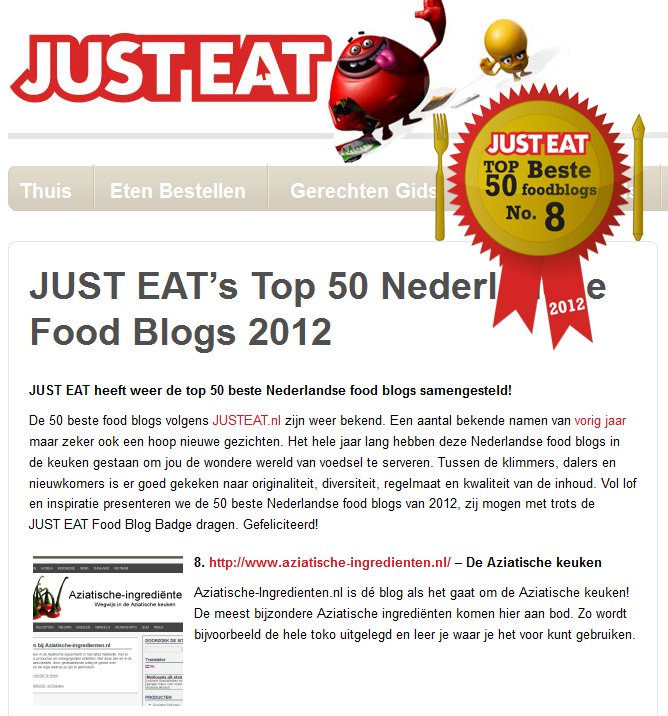 Top 50 Foodblogs