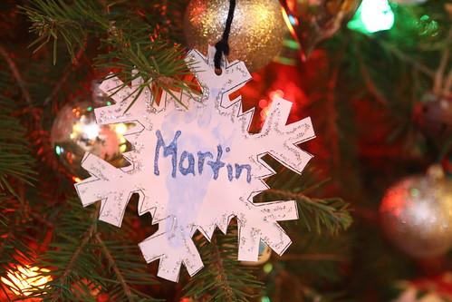 Martin Ornament