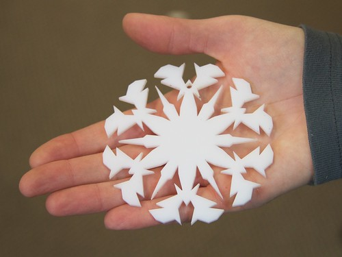 CNC Snowflakes 17