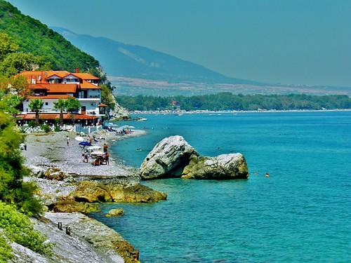 seascape beach landscape europe greece katerini pieria platamonas platamon ελλαδα κατερινη πιερια platamonbeach eastolympos βησσαριου vissariou πλαταμων