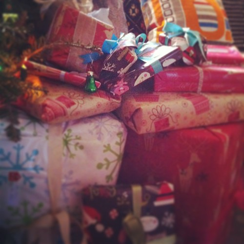 brown paper packages #yule