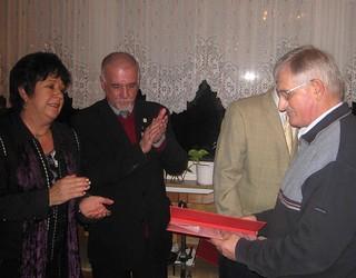 Willi Schmidt gehört 40 Jahre der SPD an