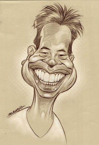 My caricature by Paco Najera