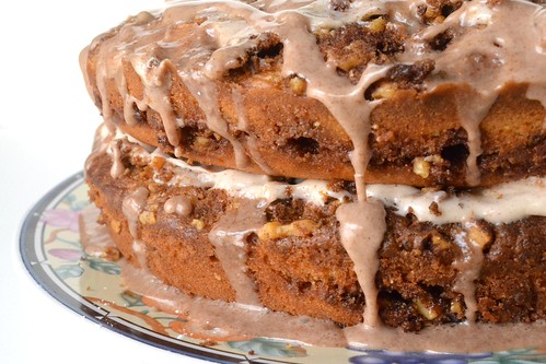 walnut cinnamon coffee cake