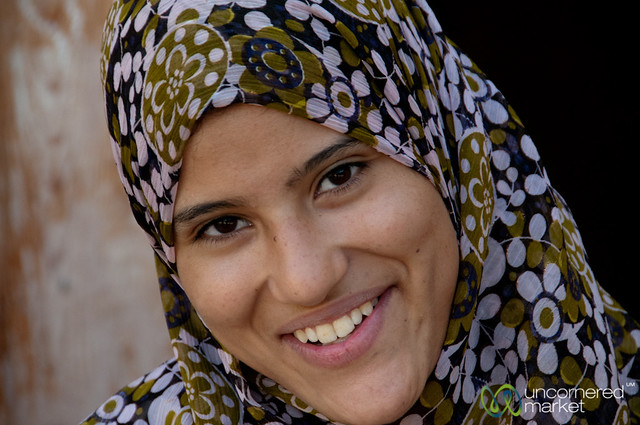 Young Egyptian Woman - Tunis Pottery Village, Egypt