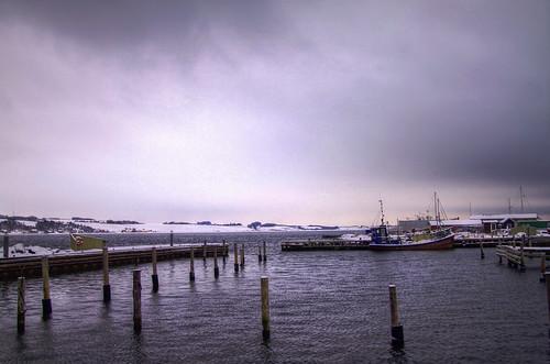 winter cold ice denmark harbor ship harbour mokastet