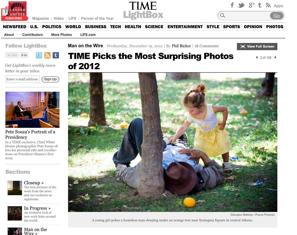 TIME magazine - LightBox