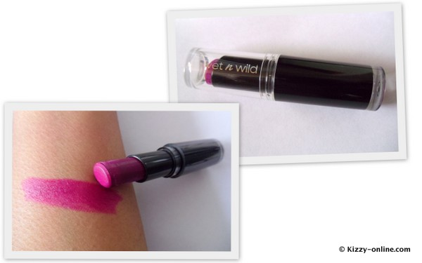 Wet n Wild & MegaLast Lip Color 908C Sugar Plum Fairy