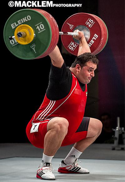 Anoushirvani IRI 105+kg olympic weightlifter