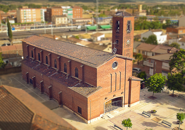 Iglesia de Santa Rosa de Lima - Venta de Baños