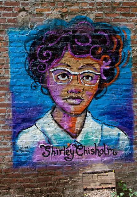 Shirley Chisholm, Lower East Side Girls Club Garden