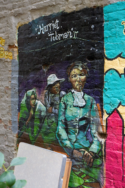 Harriet Tubman, Lower East Side Girls Club Garden