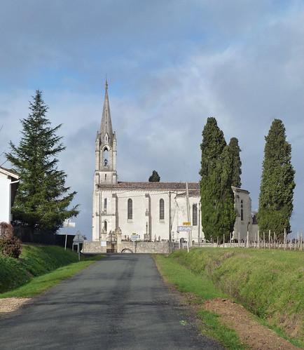 Saint Quentin de Caplong - L'Eglise 01