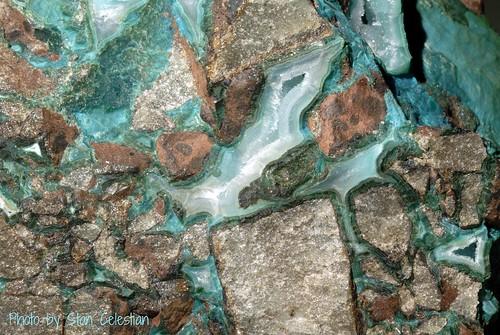 sedimentary breccia clastic chrysocolla sedimentaryrocks detrital