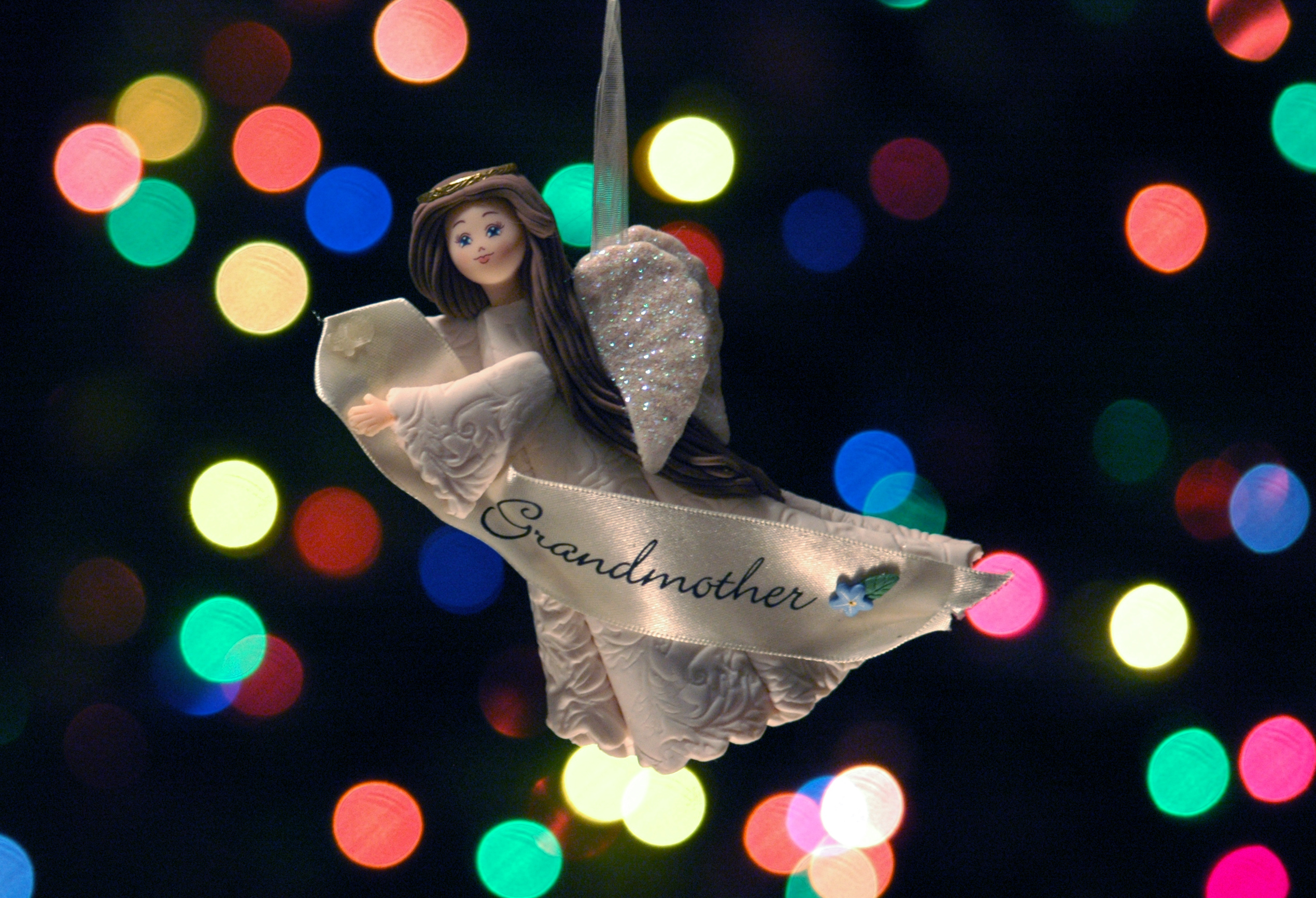 Bokeh angel